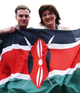 Nicky Morgan, MP for Loughborough has been highly supportive with my Balloon Kenya Project.
