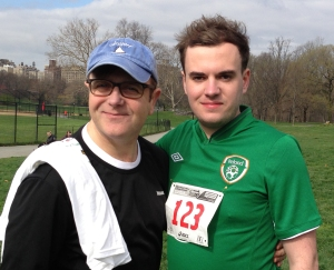 Michael and I in Central Park